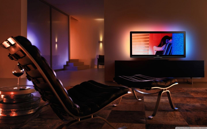 Media center for living room