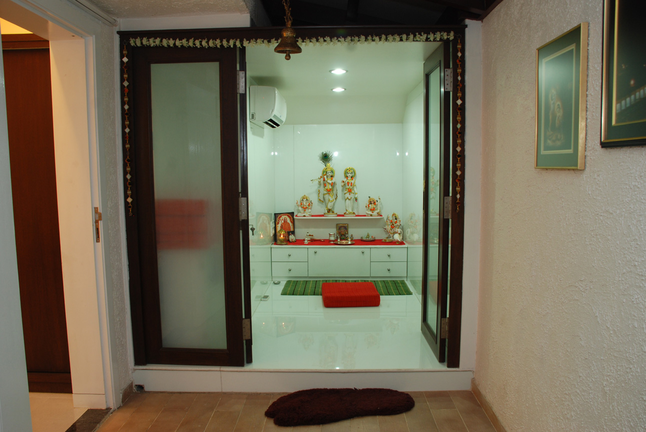 Pooja Room Interior Design Ideas Part - 35: Pooja Room