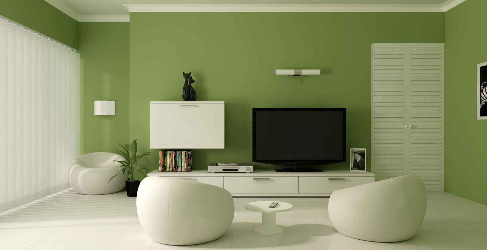 Impressive Green Color Paint Living Room Ideas 1600 x 820 · 592 kB · jpeg