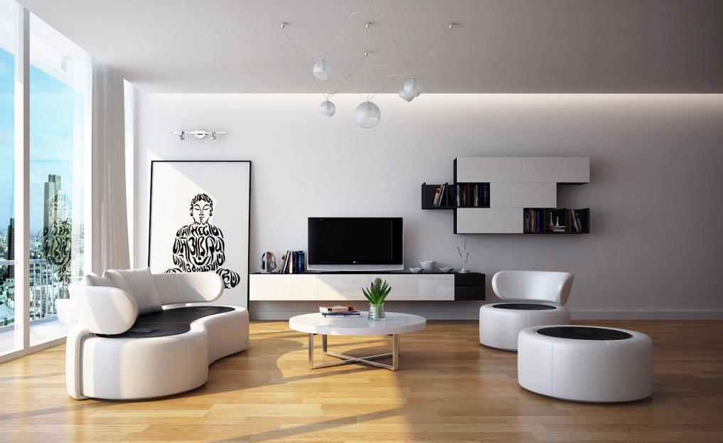 Contrasting Flooring