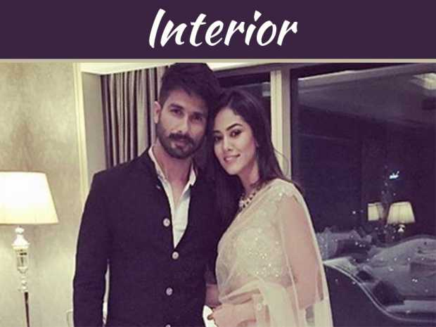 Shahid Kapoor has done Interior Designing Himself
