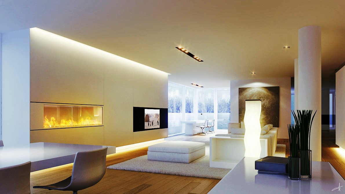 Lighting makes all the difference my decorative for Led lighting ideas for living room