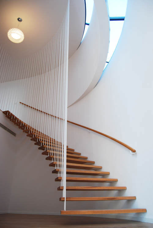 Stylishly Cut Staircase
