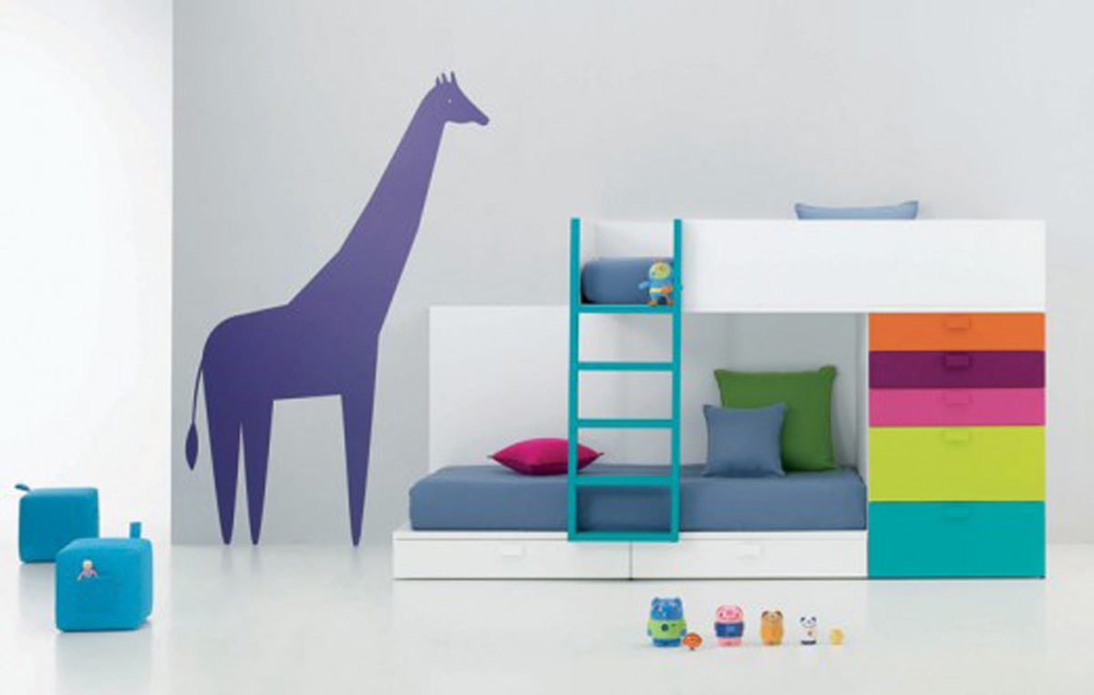 Simple tips ideas for your kids room designers for Kids bed design