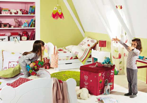 Colorful Kids Room Interior