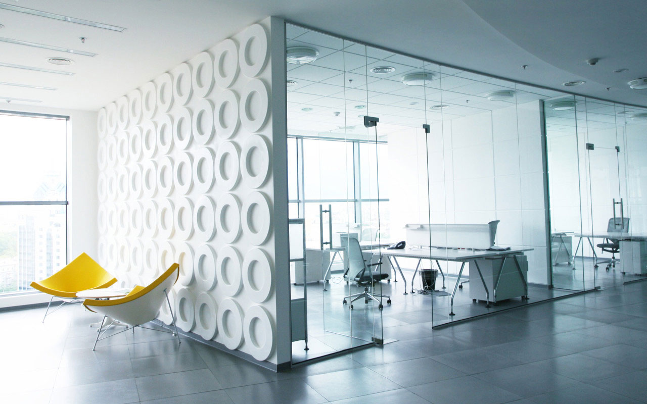 Modern best office interior my decorative for Modern interior design for office