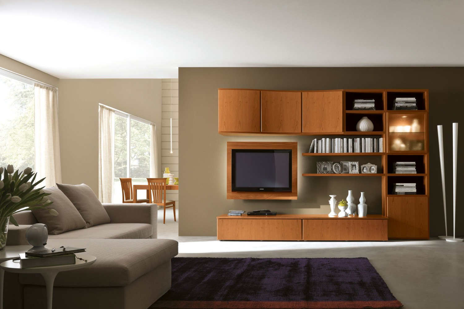 Beautiful wall units