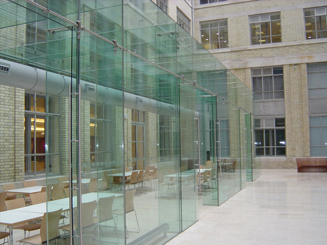 Toughened Glass Windows