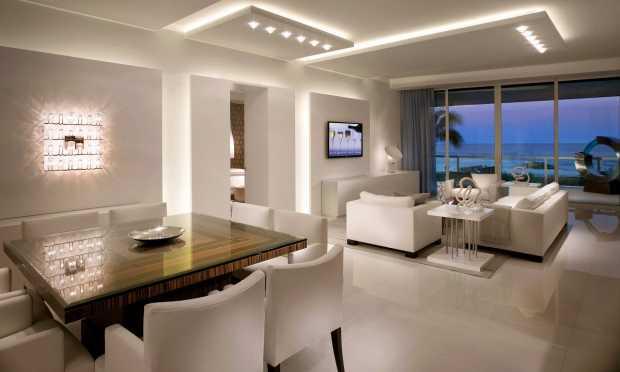 Architectural Interior Design Boca Raton modern ocean living dining