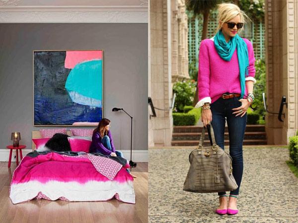 Fashion design and interior design