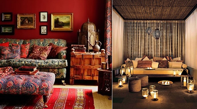 Earthen material home decor items my decorative for Ethnic bedroom ideas