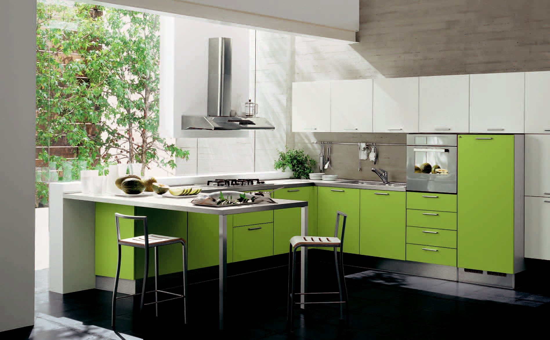Fabulous Green Kitchen Design 1896 x 1174 · 777 kB · jpeg
