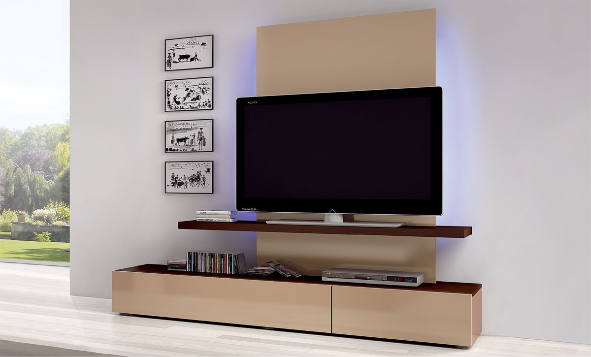 LCD Wall Mount Unit Idea