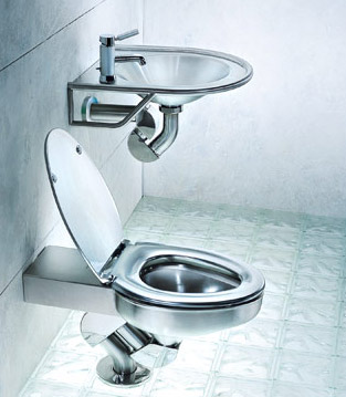Metallic Toilet Seat