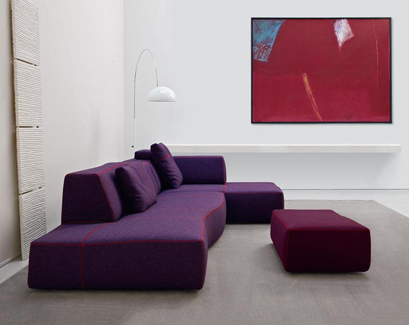 Modern Clean Minimal Living Room
