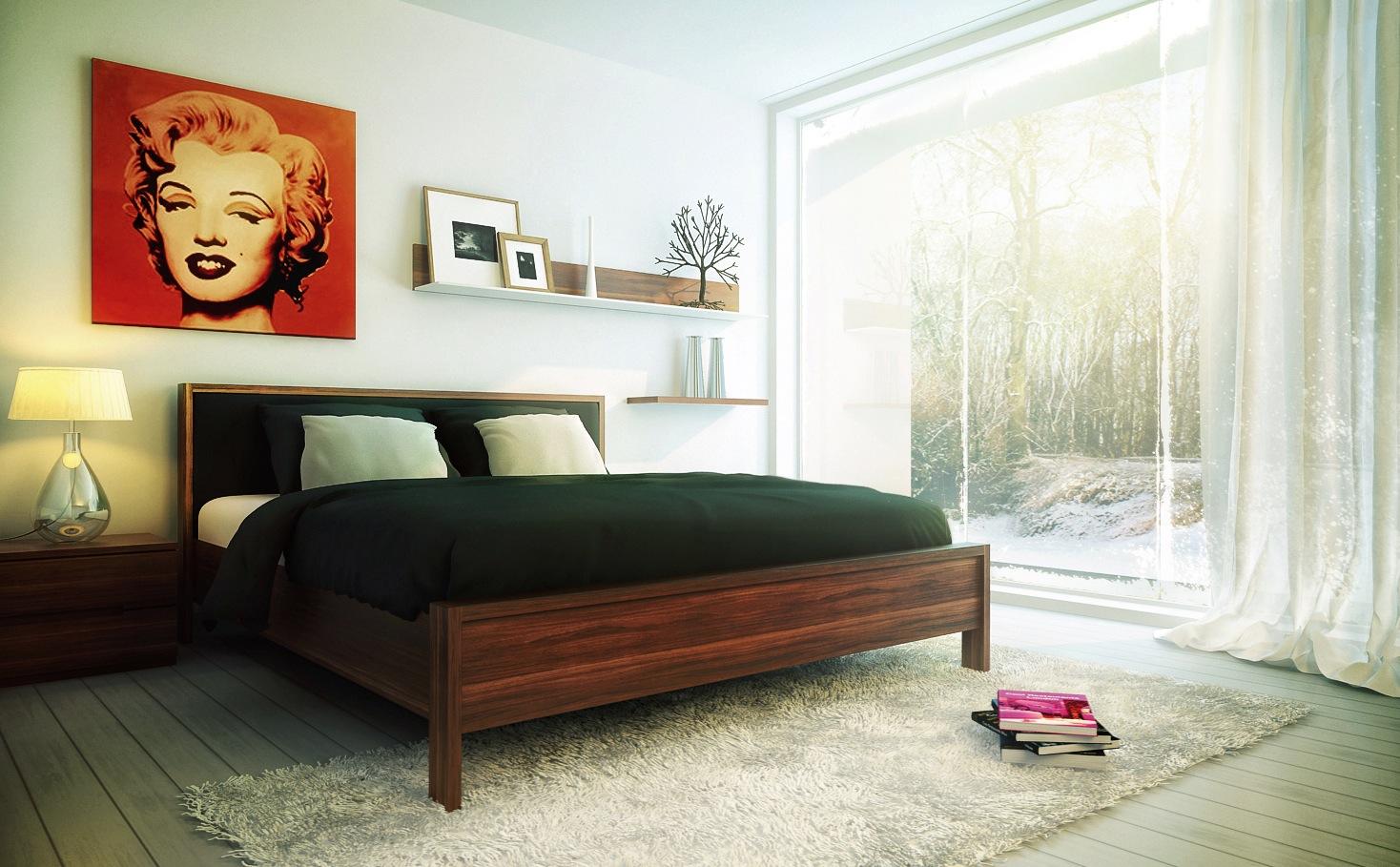 Understated Bedroom Decor Pop Art