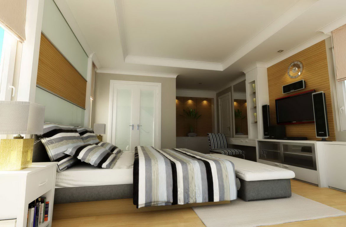Master Bedroom Interior Design 1170 x 768