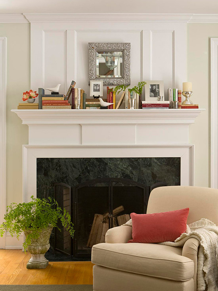 D cor home with 5 style tips which will cost less my for Unique mantel decor