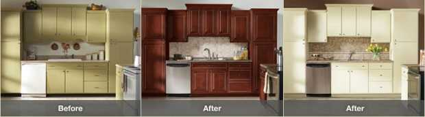 kitchen cabinets refacing ideas