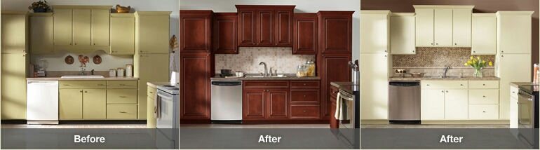 Tips on remodeling the kitchen cabinets my decorative for Kitchen cabinet refacing ideas