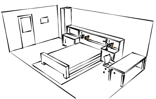 My stylish room blueprint