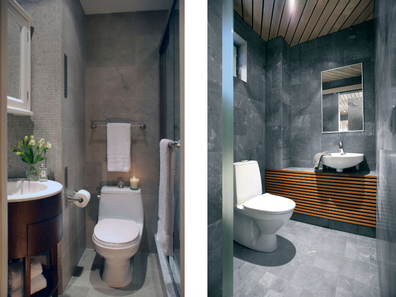 Choosing the right toilet my decorative for Small toilet interior design
