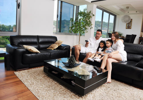 Family Sofa. It Is Advisable To Use The Saddle Soap Of A High Quality And  Also The Cloth Used Should Be Lint Free. This Will Help To Expedite The  Process Of ...