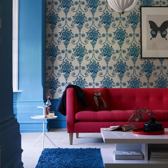 Bold Room Designs: Facelift To Wall: Give New Wall Covering