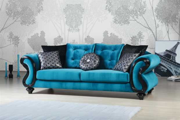 Stylish ferozi sofa