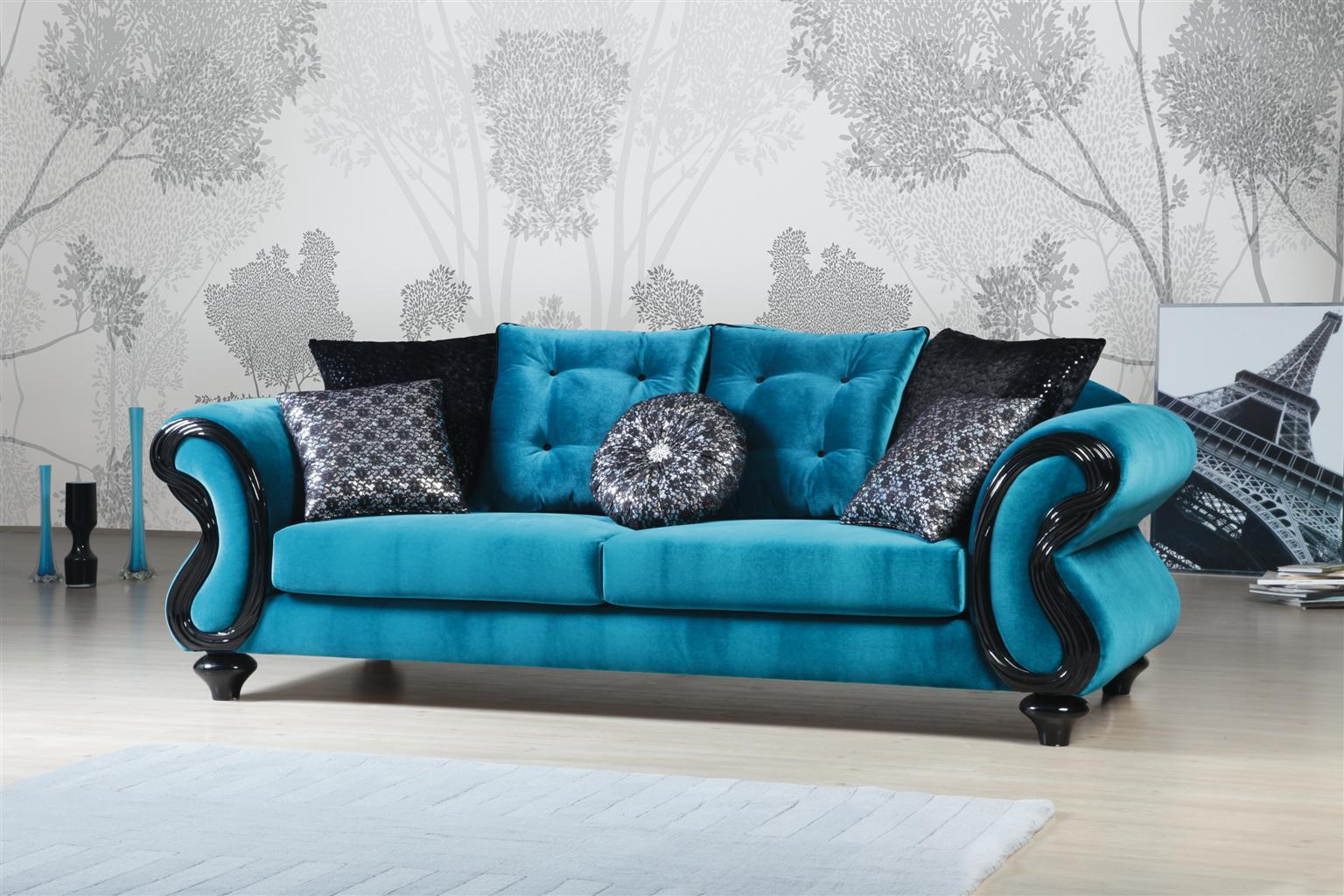 Stylish Ferozi Sofa