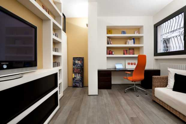 Rome Contemporary Entertainment Room Design