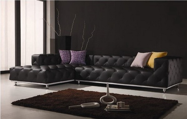 Black Leather Sofas