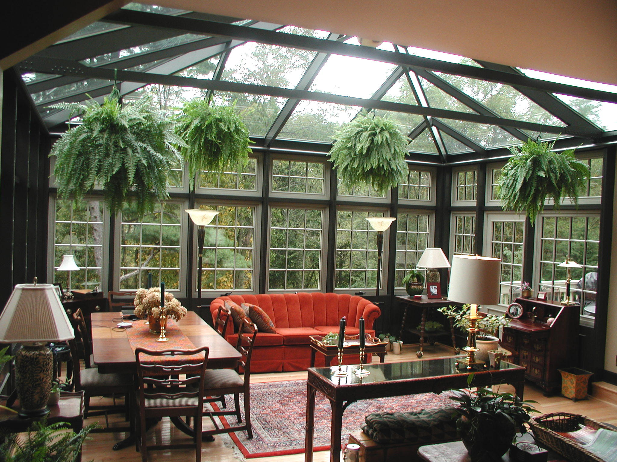 Conservatory a room of nature 39 s delight my decorative for Decoration veranda