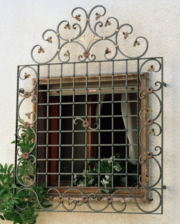 Stylish Window Grill Designs