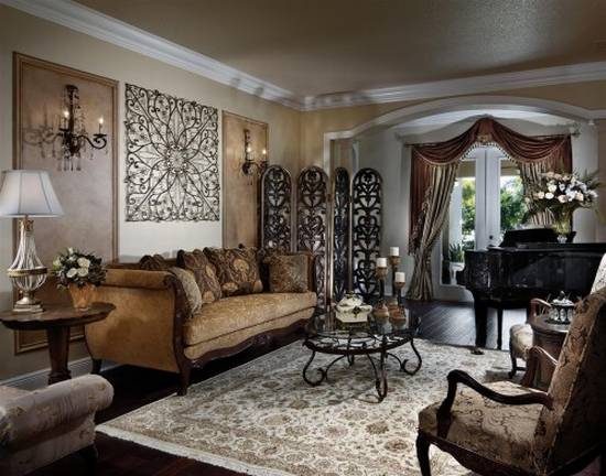 Traditional Living Room Decorating Ideas Indian Styled Home Living Room ...