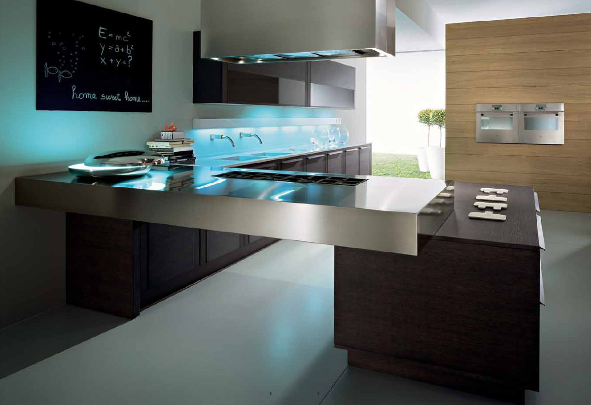 Kitchen design contemporary ideas wonderful new home designs ...