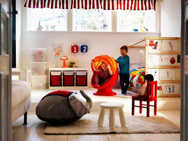 Wonderful shared kids room ideas