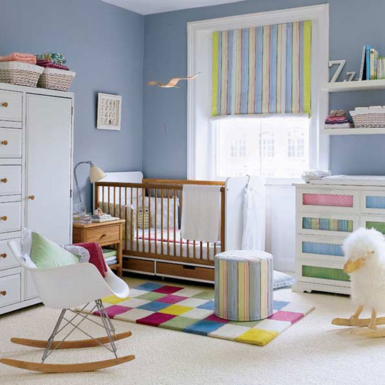 Nursery room decorating ideas for boys