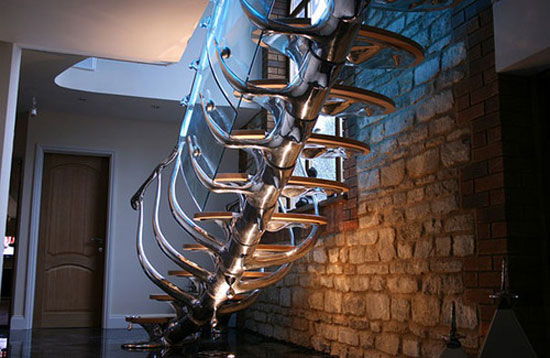 Handrail designs for stairs