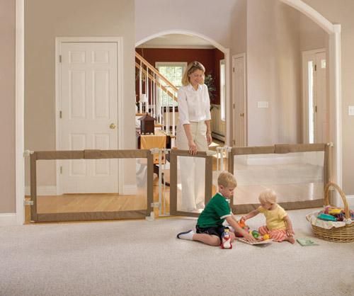Secure custom fit baby gate