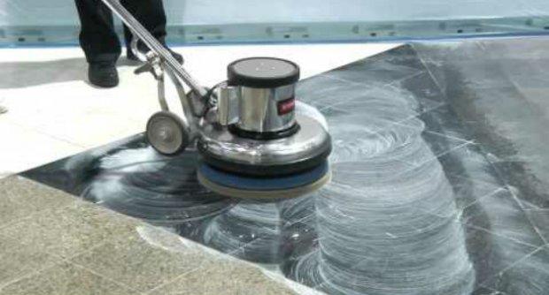 Marble flooring cleaning