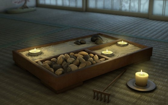 Spa meditation Room