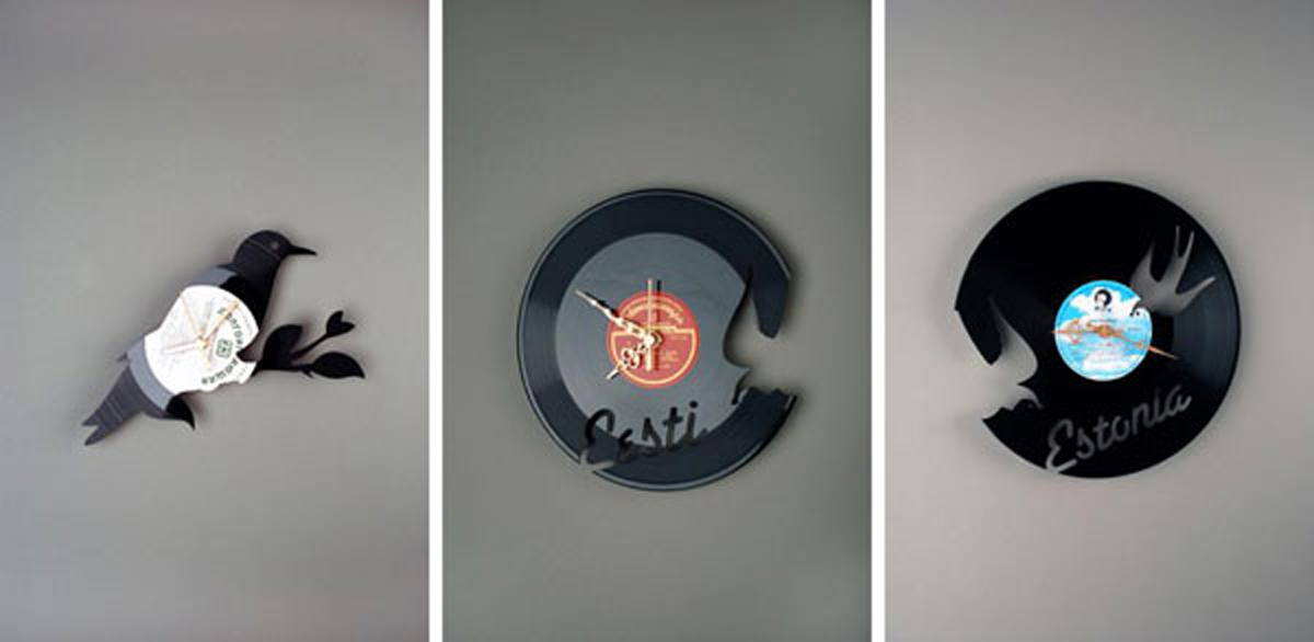 Artistic Wall Clock Designs