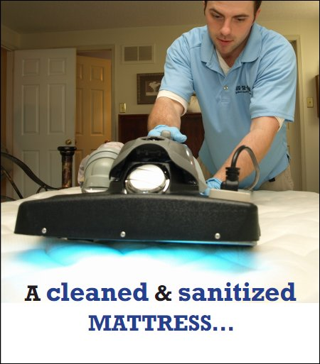 Cleaned mattress