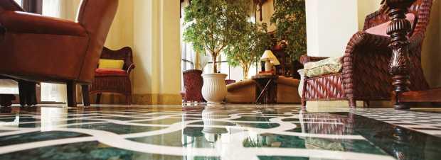 Hotel lobby marbles