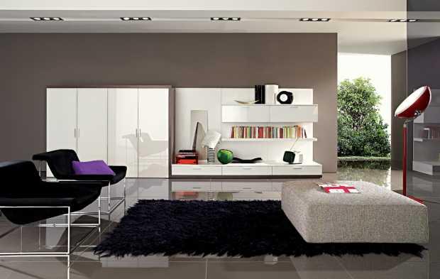 Living Room Contemporary Home Decoration
