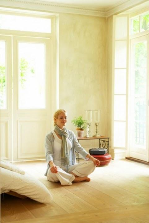 Minimalist meditation and yoga room design ideas