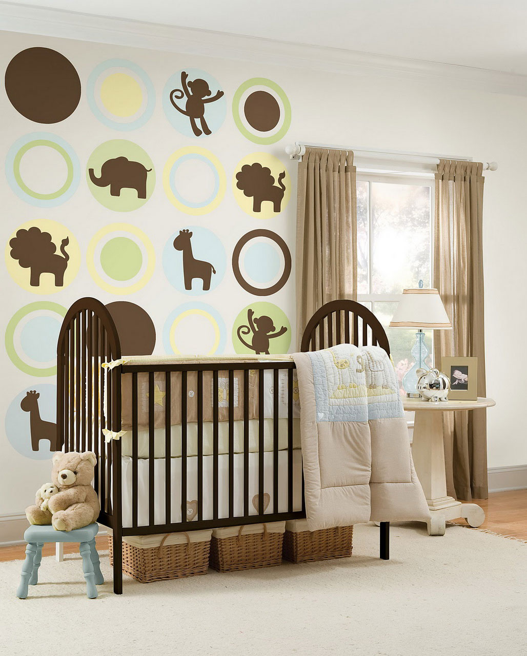 Dream nursery for your baby my decorative for Baby bedroom design