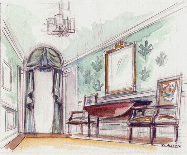 Stunning Interior Design Sketch 600 x 500 · 138 kB · jpeg