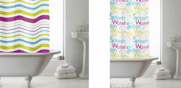 Bathroom Curtains Design